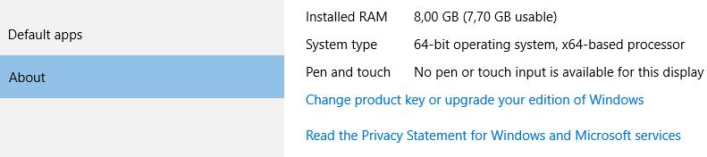 Schimbare versiune Win 10 Home (BIOS) - Win 10 Pro (Retail)