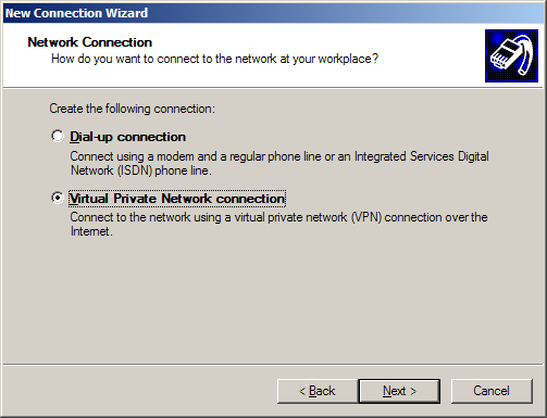 Configurare VPN PPTP pe Windows XP