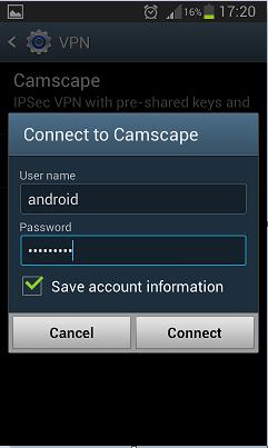 Configurare conexiune VPN de tip IPSEC XAUTH PSK pe Android